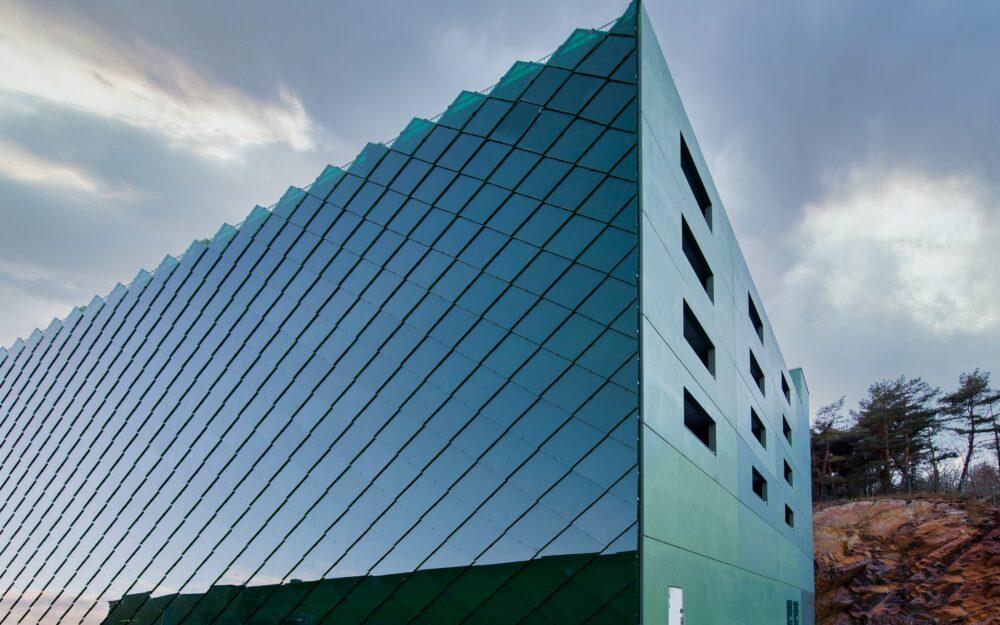 Fasadglas K20 Parkeringshus