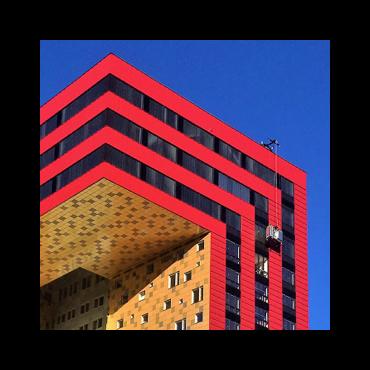 Fasadglas ICON Växjö