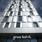 Fasadglas Grow Hotel