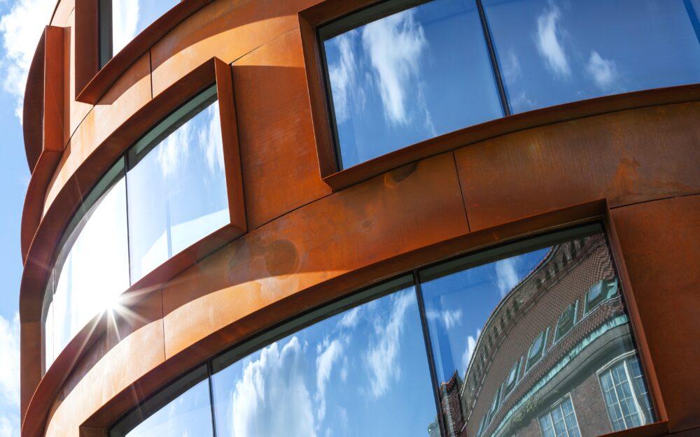 Fasadglas Arkitekturskolan KTH