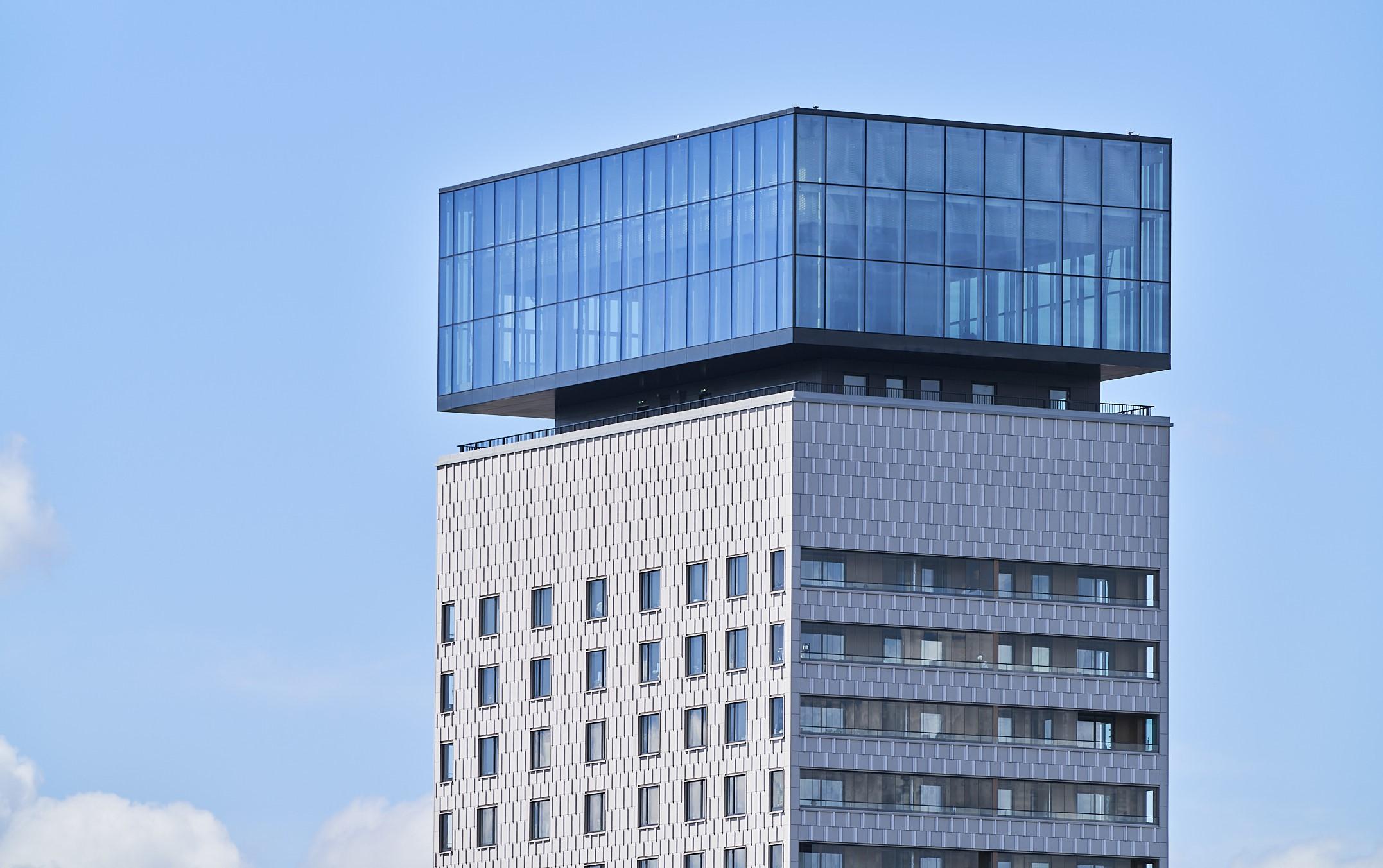 Fasadglas Kajplats 6 Liljeholmen